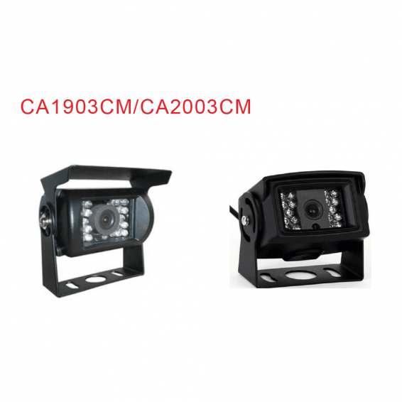 CMOS/CCD Universal waterproof Camera with Metal Housing