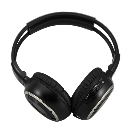 Dual Channel IR wireless Stereo Headphone