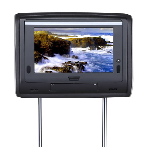 7 inch headrest DVD Player with Pillow